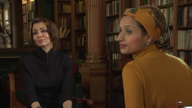Elif Shafak interview Literature Elif Shafak interview Elif Shafak interview SOT re cultural appropriation