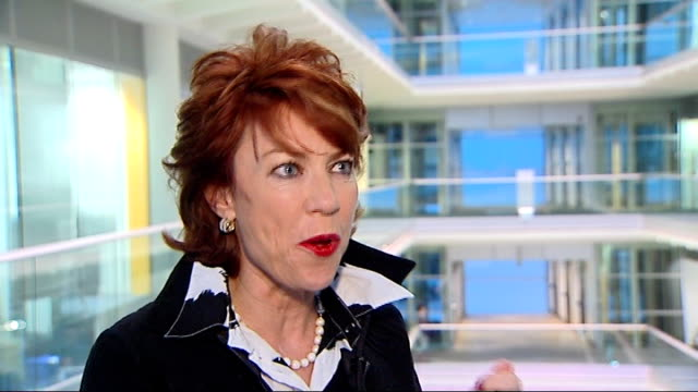 new ebook reader on market gir kathy lette interview sot - electronic book stock videos & royalty-free footage
