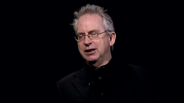 peter carey interview; england: int peter carey interview sot - discusses his new novel, 'his illegal self' - literature stock videos & royalty-free footage