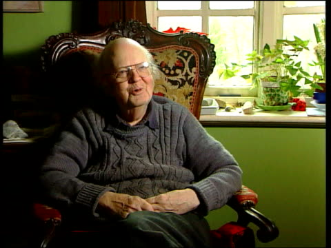 Professor John Bayley speaks out about Alzheimer's Disease Bayley interview SOT She was riding bicycle and looked thoroughly discontented / I thought...