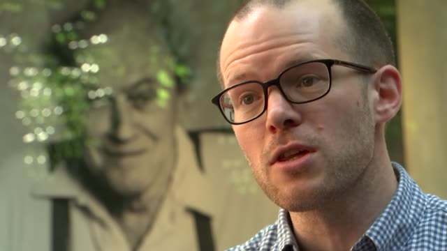 roald dahl museum general views england buckinghamshire great missenden roald dahl museum and story centre int steve gardam interview sot 'fantastic... - dahl stock videos and b-roll footage
