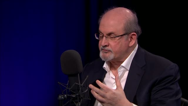 Salman Rushdie interview ENGLAND London INT Salman Rushdie interview on 'Ways to Change the World' podcast SOT