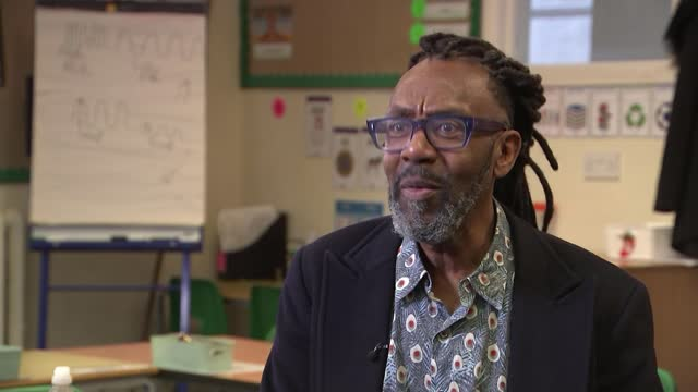 sir lenny henry releasing first children's book; england: london: int sir lenny henry interview sot **henry interview partly overlaid sot** sir lenny... - literature stock videos & royalty-free footage
