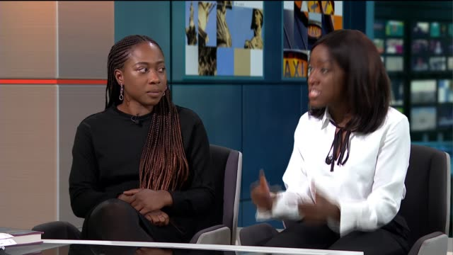 'taking up space the black girl's manifesto for change' published by stormzy's publishing imprint england london gir int chelsea kwakye and ore... - litteratur bildbanksvideor och videomaterial från bakom kulisserna