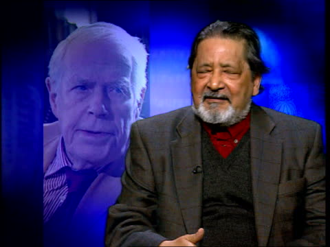 writer anthony powell dies london sir vidia naipul interviewed sot to write as he did about the nuances of class to think that it was worth... - anthony powell stock videos & royalty-free footage