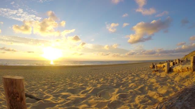 Lit-et-Mixe Strand, Sonnenuntergang