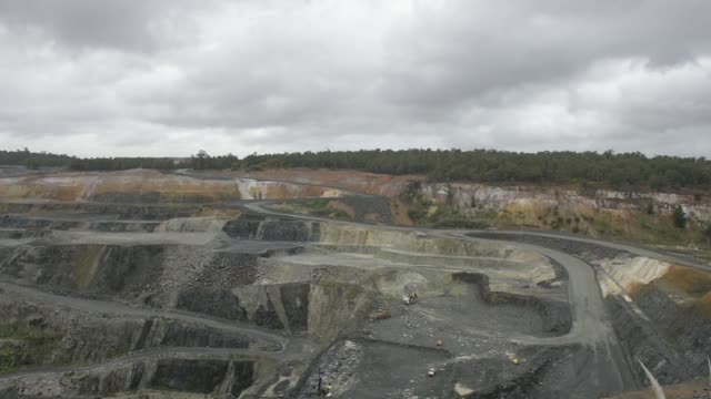 Lithium ore is mined in the open pit at a Talison Lithium Ltd site a joint venture between Tianqi Lithium Corp and Albemarle Corp in Greenbushes...