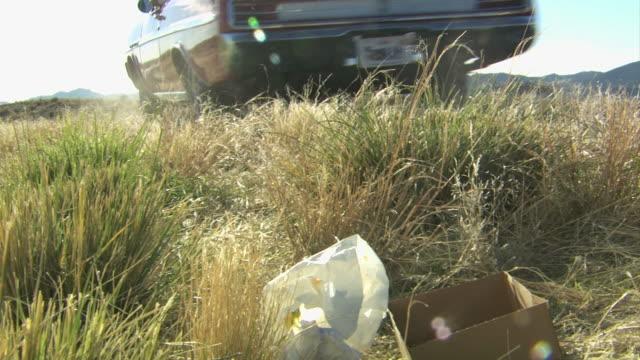 littering the roadside - littering stock videos & royalty-free footage