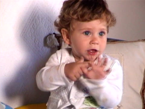 little baby - one baby boy only stock videos & royalty-free footage