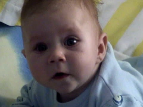 little baby - face down stock videos & royalty-free footage