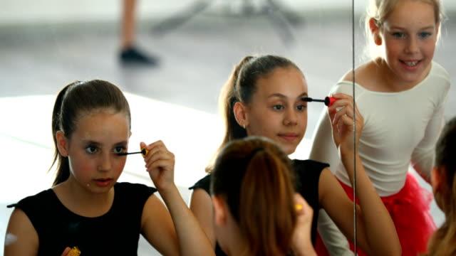 little ballerinas on a break - ballet performance stock videos & royalty-free footage