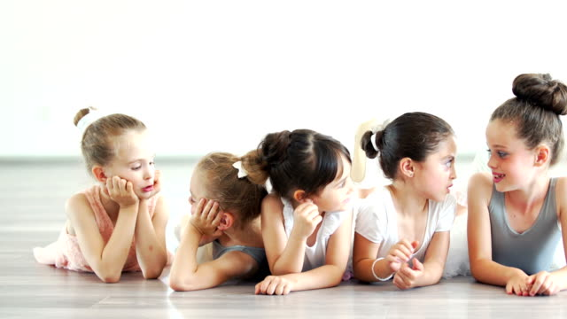 little ballerinas. - ballet dancing stock videos & royalty-free footage