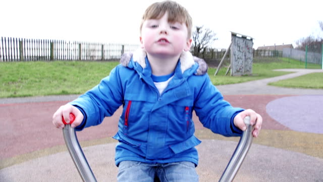 little boy at the park - children only stock videos & royalty-free footage