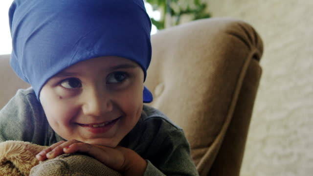 little boy chemotherapy - cancer illness stock videos & royalty-free footage