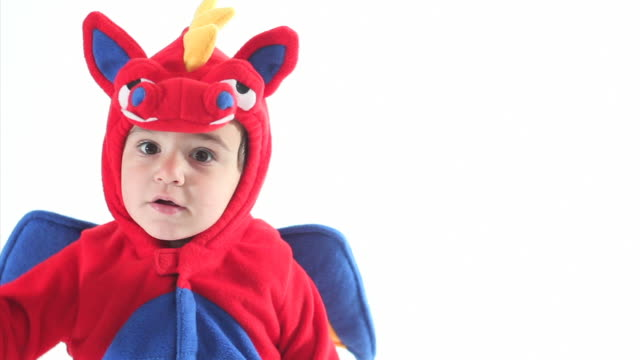 little boy halloween costume - costume stock videos & royalty-free footage
