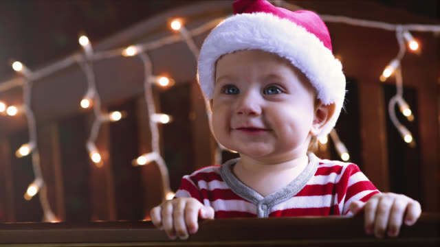 Little boy in Christmas