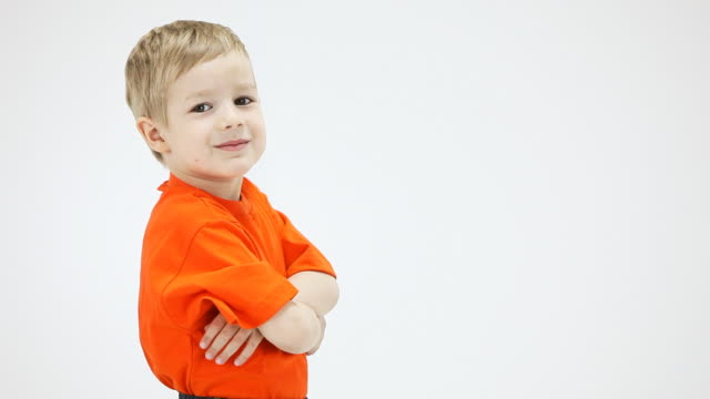 little boy nods approvingly, shows thumbs up - sign language stock videos & royalty-free footage