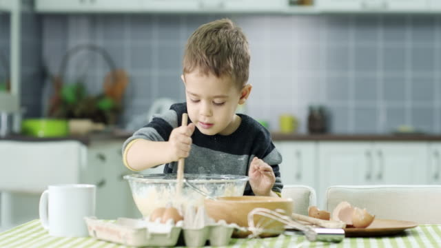 little boy prepare food - wishing stock videos & royalty-free footage