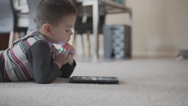 little boy using a digital tablet - 2 3 years stock videos and b-roll footage