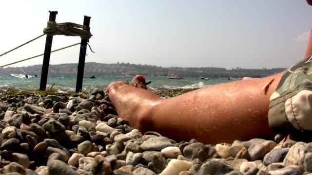 Little boy's feet