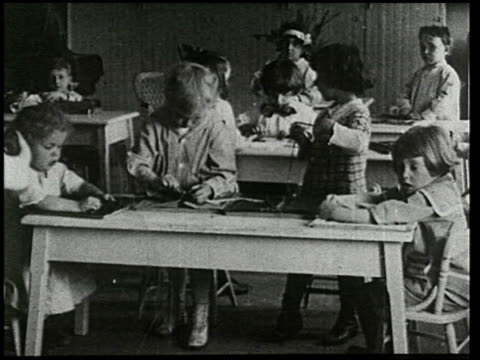 little brothers and sisters: a film lesson in health and hygiene - 14 of 15 - anno 1928 video stock e b–roll