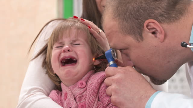 HD: Little Girl Crying During Doctors Examination