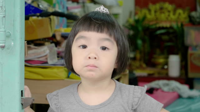 little girl eat snack - one baby girl only stock videos & royalty-free footage