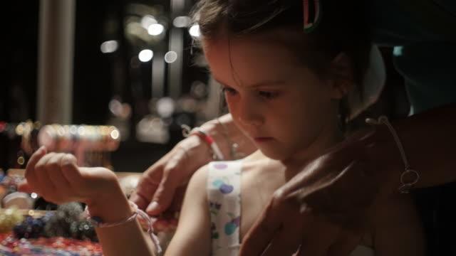 little girl having fun at a summer holiday resort. - summer resort stock videos & royalty-free footage