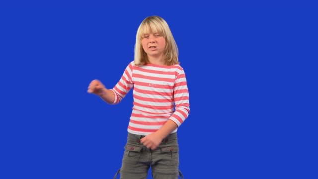 HD: Little Girl Having Fun
