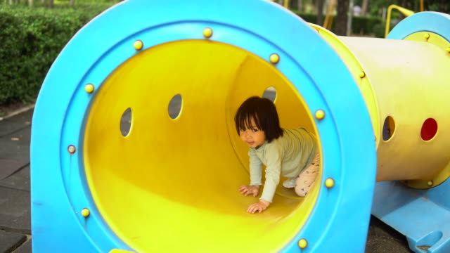 little girl  in playground - 4 5 years stock videos & royalty-free footage