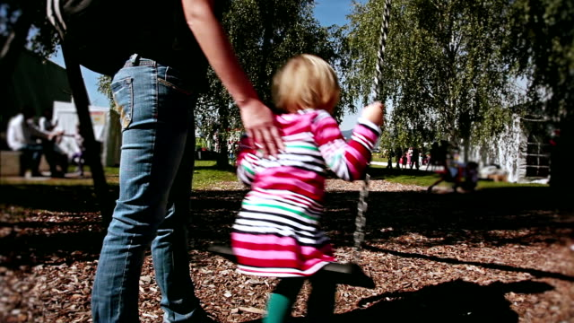 HD: Little Girl on a Swing