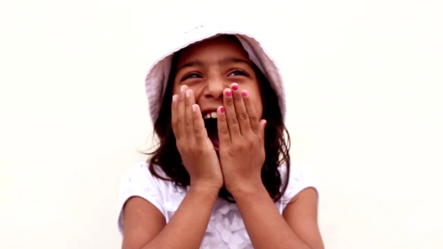 little girl portrait - raw footage stock videos & royalty-free footage