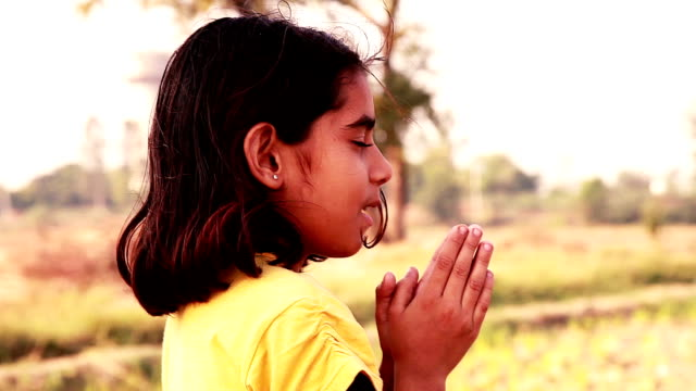 little girl praying - forgiveness stock videos and b-roll footage