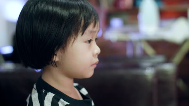 little girl watching television - little girls flashing stock videos and b-roll footage