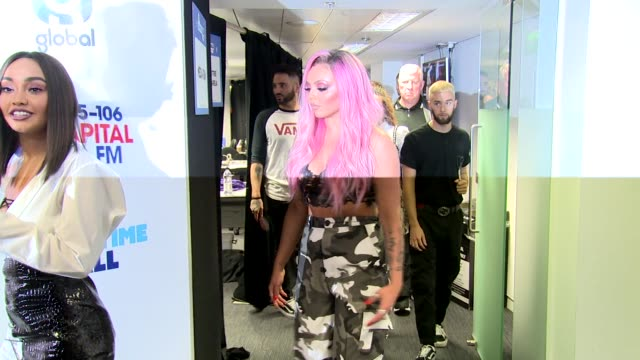 little mix perrie edwards jesy nelson jade thirlwall leighanne pinnock at wembley arena on june 10 2017 in london england - jade stock videos & royalty-free footage