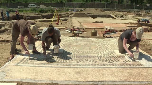 A 'little Pompeii is how French archaeologists are describing an entire ancient Roman neighbourhood uncovered on the outskirts of the southeastern...
