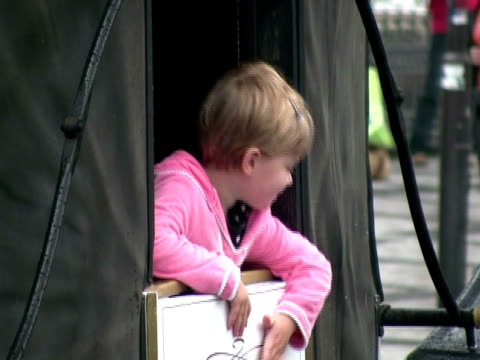 Little Princess In Carriage