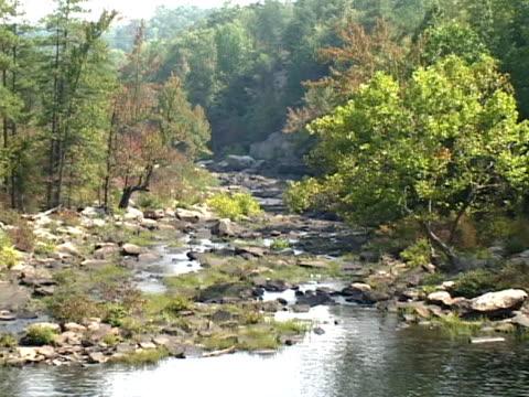 little river falls - alabama stock-videos und b-roll-filmmaterial