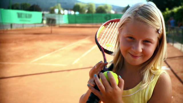 hd: little tennis player - tennis stock videos & royalty-free footage
