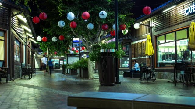 Little Tokyo, Los Angeles - Time Lapse