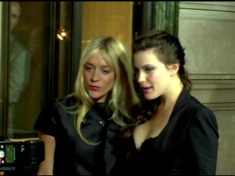 Liv Tyler and Chloe Sevigny at the Cartier and Interview Magazine Celebration of Love at the Cartier Mansion in New York New York on June 8 2006