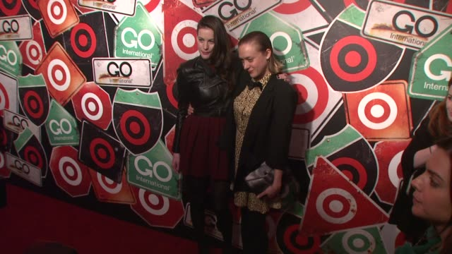 Liv Tyler and Chloe Sevigny at the Target's GO International Designer Collective Launch at New York NY