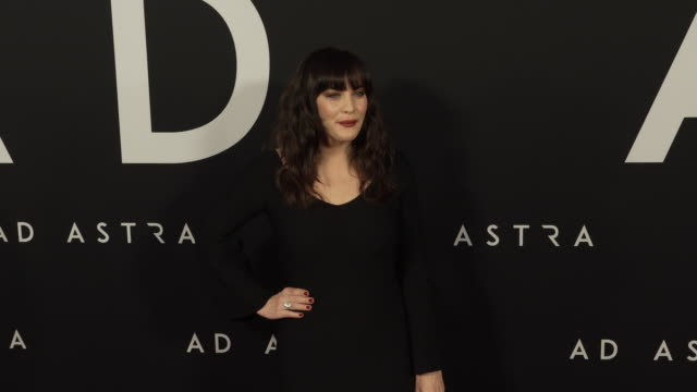 liv tyler at the ad astra special screening at arclight cinerama dome on september 18 2019 in hollywood california - cinerama dome hollywood stock videos & royalty-free footage