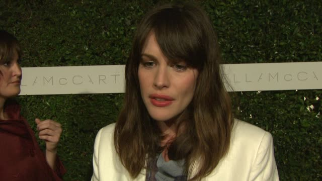 Liv Tyler on the importance of tonight's event and on the importance of films like Home at the 'Home' Screening at Stella McCartney LA at Los Angeles...