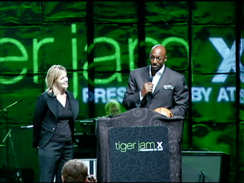Live Auction with Alonzo Mourning at the Tiger Jam X Presented by ATT at Mandalay Bay Resort Casino in Las Vegas Nevada on May 26 2007