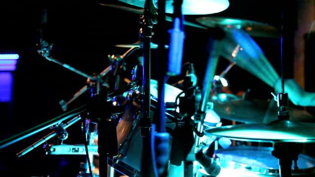 vídeos y material grabado en eventos de stock de tambor en vivo de - rock moderno