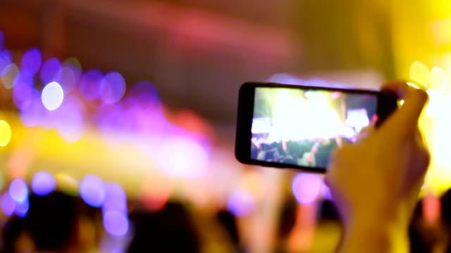 Live-Event in der Nacht