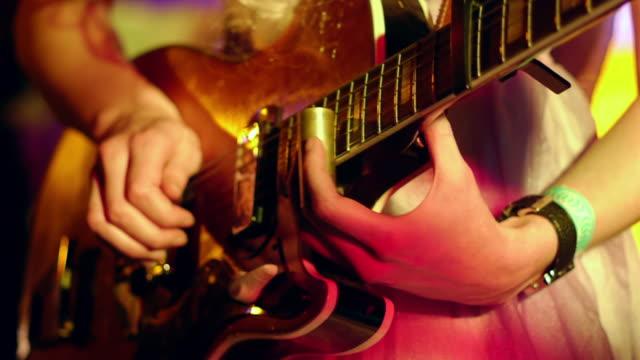 Live guitar defocusing