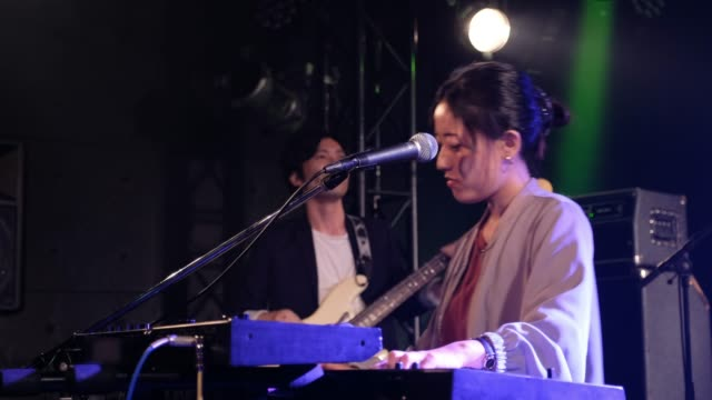live rock band show in tokyo japan - rock group stock videos & royalty-free footage