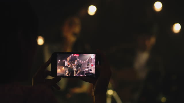live streaming concert - music stock videos & royalty-free footage